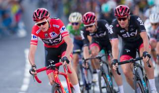 Chris Froome Vuelta a Espana Team Sky