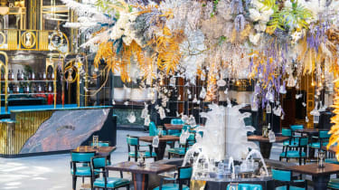 Pop-up restaurant Solas is located in the iconic Savoy Court