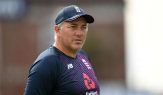 England cricket head coach Chris Silverwood
