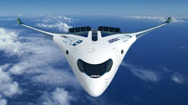 Airbus Blended-Wing Body (BWB) ZEROe concept aircraft