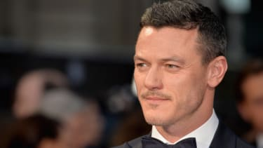 LONDON, ENGLAND - APRIL 03:Luke Evans attends The Olivier Awards with Mastercard at The Royal Opera House on April 3, 2016 in London, England.(Photo by Anthony Harvey/Getty Images)