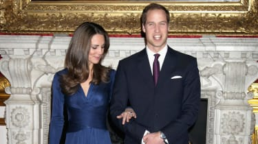 Kate Middleton and Prince William engagement photograph
