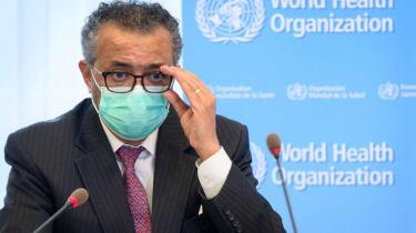 World Health Organization director general Tedros Adhanom Ghebreyesus