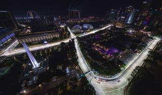 The Singapore Grand Prix, F1's popular night race, is held on the Marina Bay Street Circuit