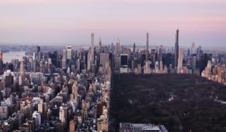 The New York City skyline
