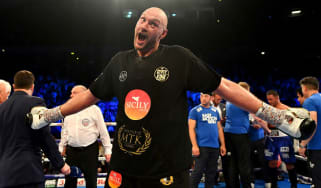 Tyson Fury boxing Deontay Wilder