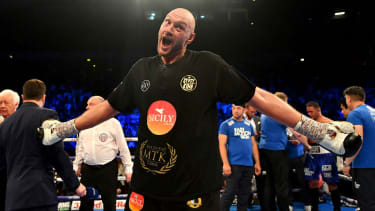 Tyson Fury boxing Deontay Wilder
