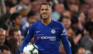 Chelsea signed Belgium playmaker Eden Hazard from Lille in 2012