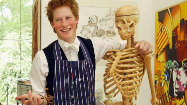 Prince Harry at Eton