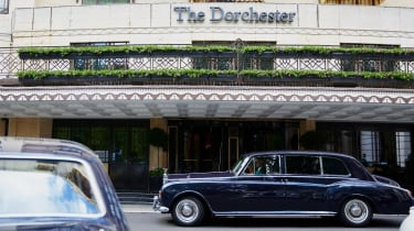 You may see a Roller or two outside of The Dorchester