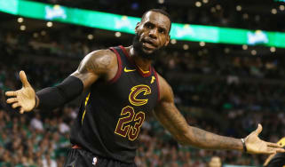 LeBron James NBA free agency Cleveland Cavaliers Lakers 76ers