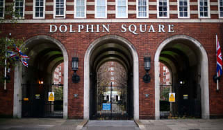 Dolphin Square near Westminster is where three boys were alleged to have been murdered in the 1980s