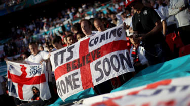 Is football coming home? This England fan believes it will soon...