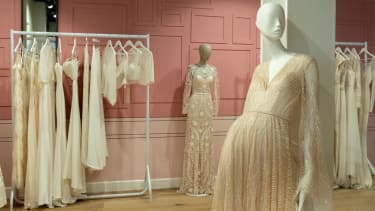 Bicester Village special pre-loved pop-up includes a bridal area