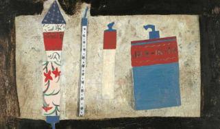 Ben Nicholson, 1929 (Fireworks), 1929, Oil on wood, Pier Arts Centre, Stromness, Angela Verren Taunt