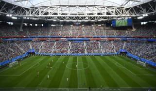 Sweden vs. Switzerland World Cup last 16 Saint Petersburg Stadium