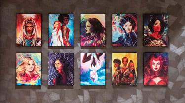 Disney's Hotel New York – The Art of Marvel Power of Women artwork