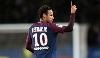 Brazilian striker Neymar joined Paris Saint-Germain for a world-record £200m fee in August 2017