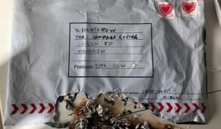 parcel bomb