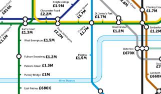 Tube House Prices
