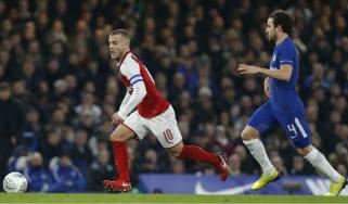 Carabao Cup Chelsea Arsenal Jack Wilshere