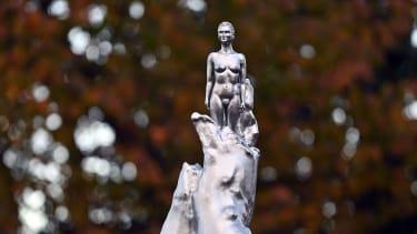 Statue of Mary Wollstonecraft in Newington Green, London