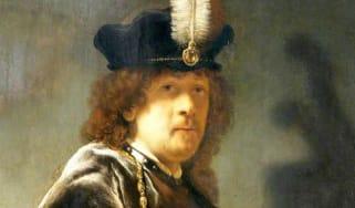 1635 Rembrandt self-portrait