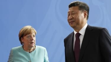 Angela Merkel and Xi Jinping