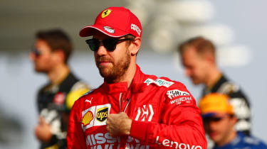 Sebastian Vettel's Ferrari contract runs out at the end of the 2020 season
