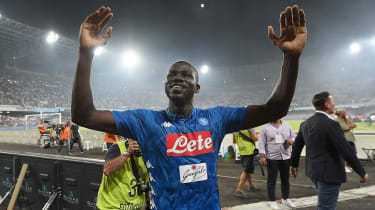 Napoli centre-half Kalidou Koulibaly is a Senegal international