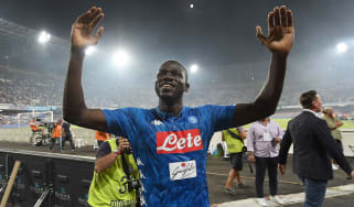 Napoli centre-half Kalidou Koulibaly is a Senegal international