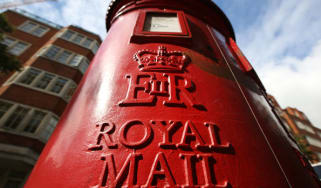 A Royal Mail post box in central London