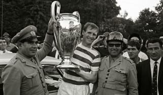 Celtic and Scotland legend Billy McNeill was the first British man to lift the European Cup