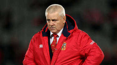 Warren Gatland British & Irish Lions rugby