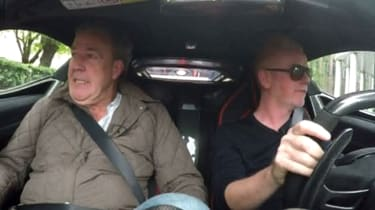 Jeremy Clarkson and Chris Evans on TFI Friday