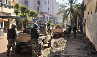 Gunmen take hostages in Radisson Blu hotel in Bamako, Mali
