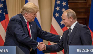 Donald Trump has sided with Putin over Russian meddling in US elections
