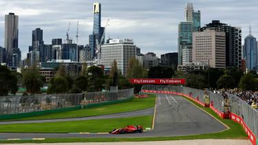 F1 Australian Grand Prix at Albert Park in Melbourne, Australia