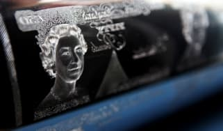 A printing plate for the £50 note