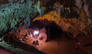 Thai caves
