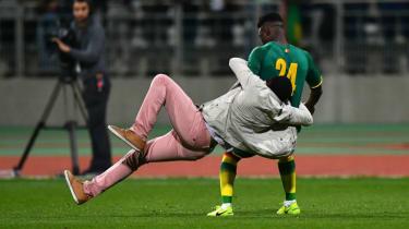 Lamine Gassama, Senegal vs Ivory Coast