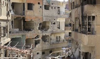 The city of Douma has suffered heavy fighting for the past two months