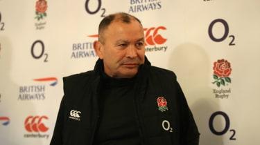 England rugby union head coach Eddie Jones