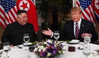 Kim Jong Un and Donald Trump