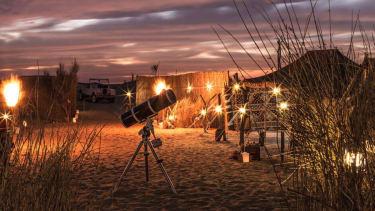 Platinum Heritage's Private Night Safari and Astronomy tour in Dubai, UAE