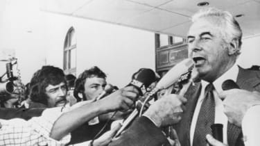 Former Australian prime minister Gough Whitlam