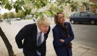 Laura Kuenssberg interviewing Primer Minister Boris Johnson