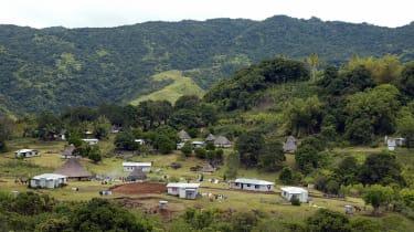 Fiji village