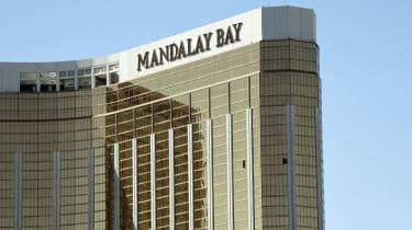 The Mandalay Bay hotel, Las Vegas
