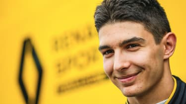 French driver Esteban Ocon has signed a two-year contract with the Renault F1 team